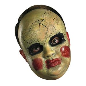 Smeary Doll Face Adult Mask