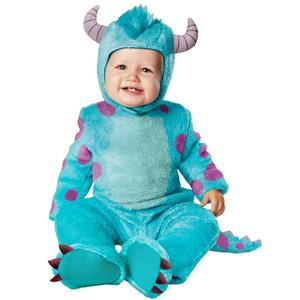 Monsters University: James P. Sulley Infant Child Costume Size 6-12 months