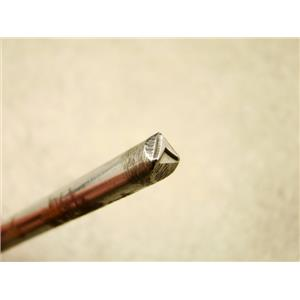 """Indian """"Curved Chevron"""" Symbol 3/16""""-5mm-Stamp-Metal-Hardened -Gold&Silver Bars"""