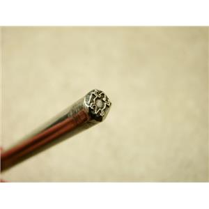 "Indian ""Desert Lizard"" Symbol 3/16""-5mm-Stamp-Metal-Hardened -Gold&Silver Bars"