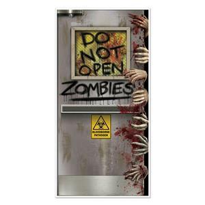 Beistle Zombies Lab Door Cover Halloween Decoration