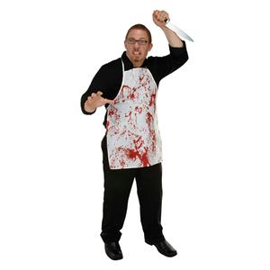 Halloween Horror Fabric Novelty Bloody Splatter Apron