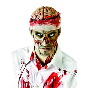 Zombie Brain Costume Headpiece