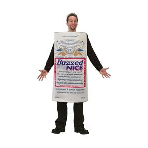 Men's Buzzed Nice Beer Adult Costume