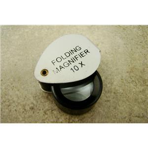 Prospectors 10X Economical Aluminum Loupe Glass Lens Jewelers Gold