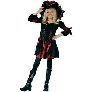 Stitch Pirate Girls Child Costume Size Small 4-6