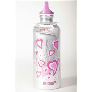 Sigg .6L Aluminum Water Bottle Love Affair