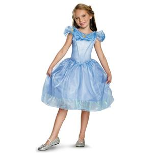 Princess Cinderella Movie Classic Girls Costume Size Medium 7-8