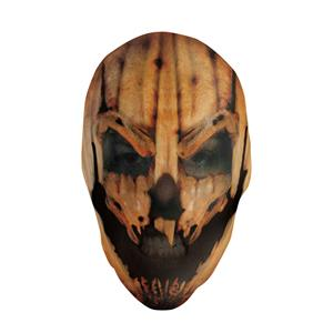 Maniac Pumpkin Nylon Mask for Halloween