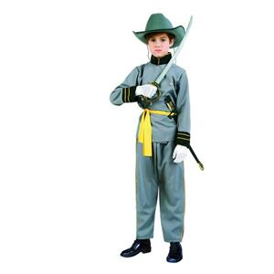 Civil War Confederate Officer General Lee Child Costume Size Small 4-6