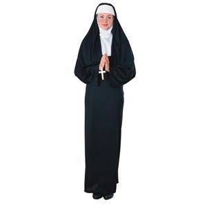 Adult Nun Costume Funny Saying Interchangeable Headband