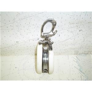 "Boaters' Resale Shop Of Tx 1502 4401.01 NICRO MARINE LARGE SNATCH BLOCK (5/8"")"