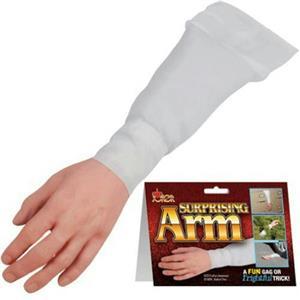 Surpising Arm Fake Old Trunk Cut Off Gag Halloween Decor Prop