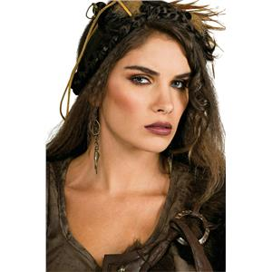 Caveman Woman Stone Age Barbarian Costume Earrings