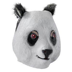 Deluxe Panda Latex Adult Mask
