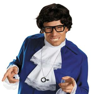 Austin Powers Deluxe Accessory Costume Kit