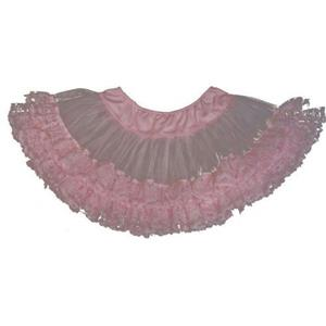 Cinema Secrets Pink Lace Trimmed Petticoat Standard up to Size 12