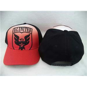 Adidas MLS Faded DC United Structured Snapback Adjustable Hat
