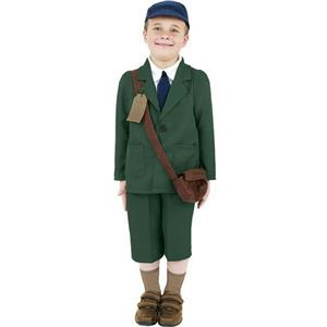World War II Evacuee Boy Child Costume Size Small