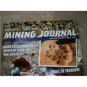 ICMJ's Prospecting and Mining Journal Magazine July 2015- Hard Rock University