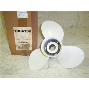 Boaters Resale Shop Of TX 1506 1524.15 TOHATSU 48-77342T49 PROP (13-3/4RH15)