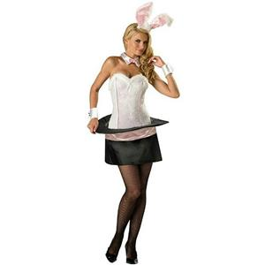 Womens Sexy Magic Bunny Adult Costume Size XS