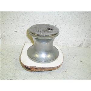 Boaters Resale Shop Of Tx 1304 0105.46 VINTAGE CHROME WINCH WITH SQUARE SOCKET