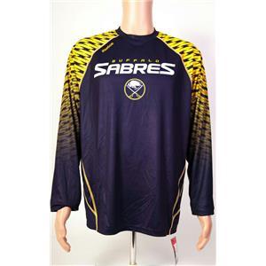 Reebok NHL Face Off Buffalo Sabers Shirt Men's