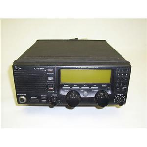 Boaters' Resale Shop Of Tx 1506 2724.14 ICOM IC-M710 SINGLE SIDE BAND VHF RADIO