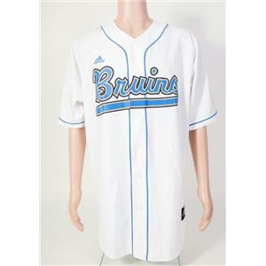 watch 54778 4270c Adidas UCLA Bruins White Replica Baseball Jersey Men's