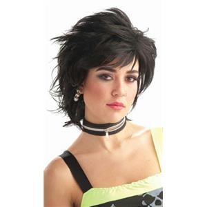 Black Punk Idol Wig