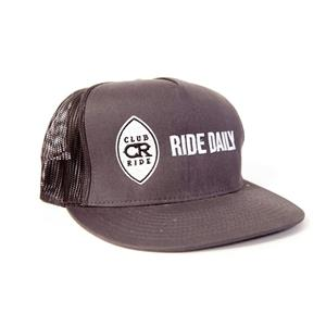 "Club Ride ""Ride Daily"" Snap Back Trucker Hat"