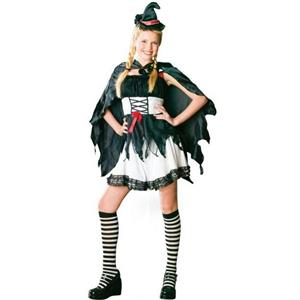 Frisky Witch Child Girls Costume Medium (8-10)