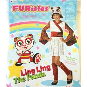 FURistas Ling Ling Panda Child Costume China Small 4-6