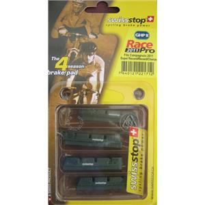 Swisstop Race 2000 Brake Pads Green For Campagnolo 10 speed