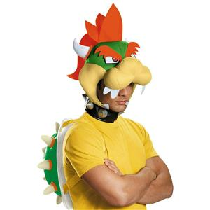 Disguise Mens Super Mario Bros. Bowser Adult Kit Halloween Costume