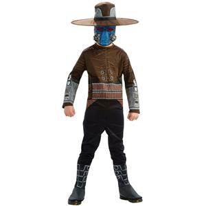 Boys Star Wars Clone Wars Cad Bane Halloween Child Costume Size Small 4-6