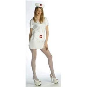 Nurse Costume Sexy Dress Adult Size Standard - 14