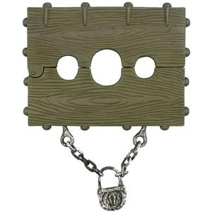 Extra Large Stock and Chain Execution Slave Haunted House Prop