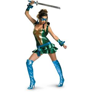 Sassy Teenage Mutant Ninja Turtles Leonardo Costume Size Large 12-14