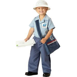 Mr. Postman Toddler Costume Size 4-6