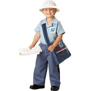Mr. Postman Toddler Costume Size 3-4