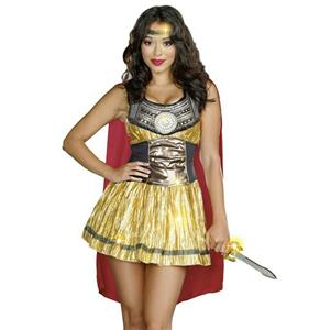 Golden Gladiator Sexy Adult Costume Size Large