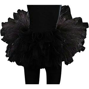 Black Tulle Junior Girls Tutu Petticoat