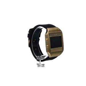 GUESS Men's U0595G3 Digital Black Watch with Alarm, Chronograph & Dual Time Functions