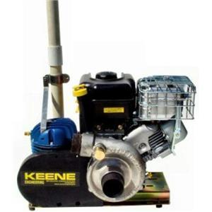 Keene Engineering P185C 6.5hp Briggs & Stratton Engine, P180 Pump & T80 Compressor - Dredges