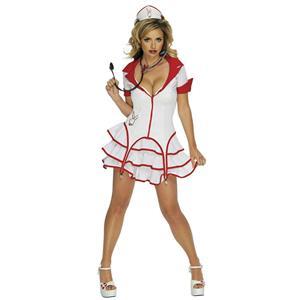 Secret Wishes Women's Sexy Playboy Nurse Costume XS