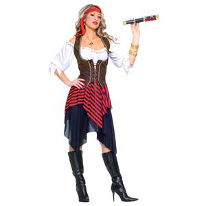 Forum Novelties Women's Sweet Buccaneer Pirate Adult Costume