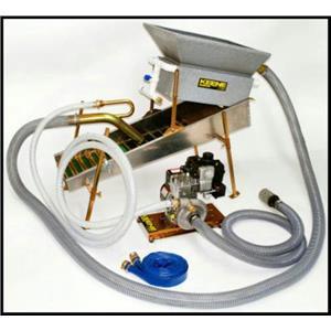 "Keene Engineering 17325H High Banker Power Sluice & 2.5"" Dredge Combination 4 hp Honda Motor Pump"