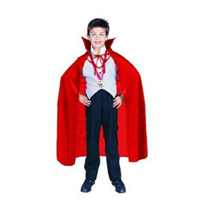 "Red Nylon Taffeta Childs Costume Cape 36"" Long"